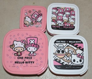 Set of Hello Kitty Bento Boxes that GM got me in Japan!! YAY!!