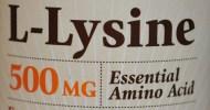 Lysine… What? &Why??
