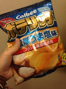 80g of crisps.
