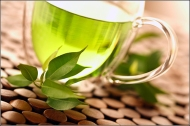 So apparently, drinking lots of green tea is beneficial